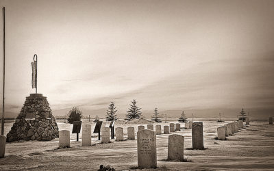 Remembering Veterans — Visit the Old Scouts Cemetery a forgotten piece of U.S. history