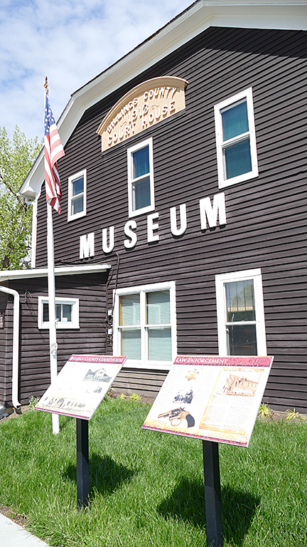 Billings County Museum was the Courthouse for many decades