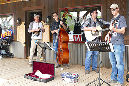 Barbeque, Bluegrass, and the best little book store in the west