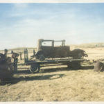 A 1929 Nash is rescued from a Dunn County pasture