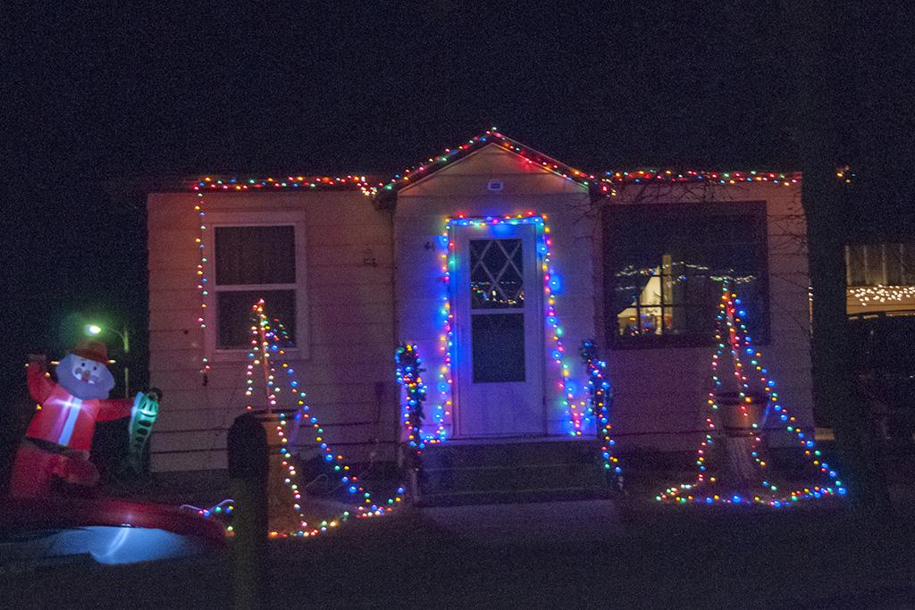 Dunn Center House Light Small Beautiful Badlands Nd