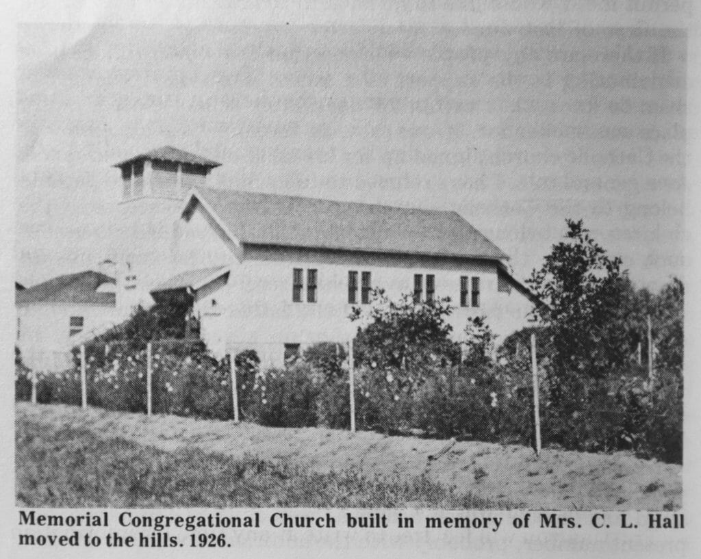 Throwback Thursday Elbowoods Memorial Congregational Church Elbowoods landmark church escapes flood waters