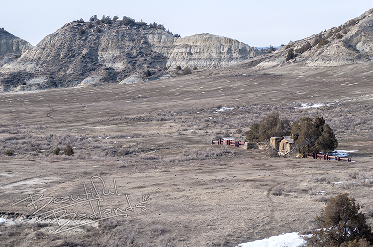 Then and now — See changes to East Entrance of Theodore Roosevelt National Park