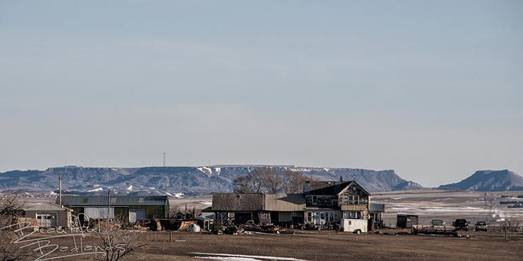 Highway 16 Alpha Sentinel Butte