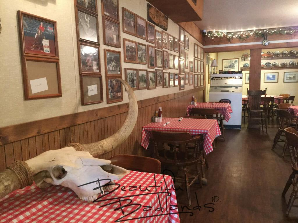 cowboy culture history food Killdeer North Dakota Buckskin