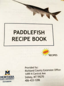 Paddlefish Recipe Book is free.