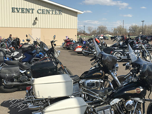 Eastern Montana motorcycles Sidney Event Center
