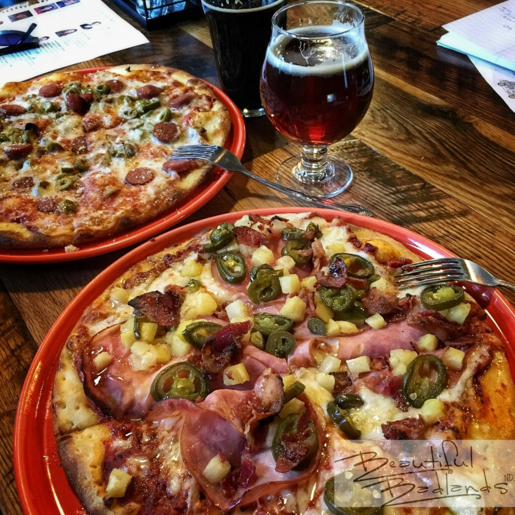 Pizza at Stonehome Brew in Watford City is anything but standard.