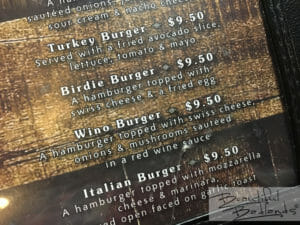 Burly's boasts burgers, and lots of them!