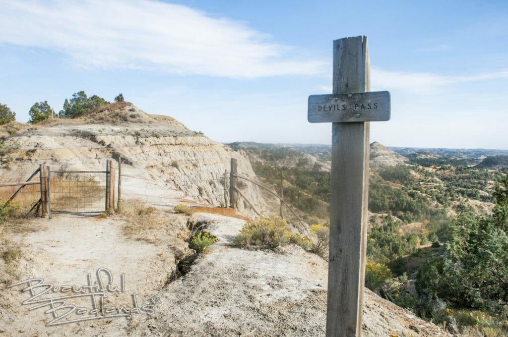 gate on Devil's Pass