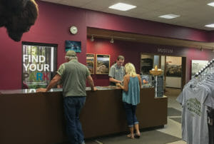 Stop at the Visitor Center at Theodore Roosevelt National Park for information before spending time there.
