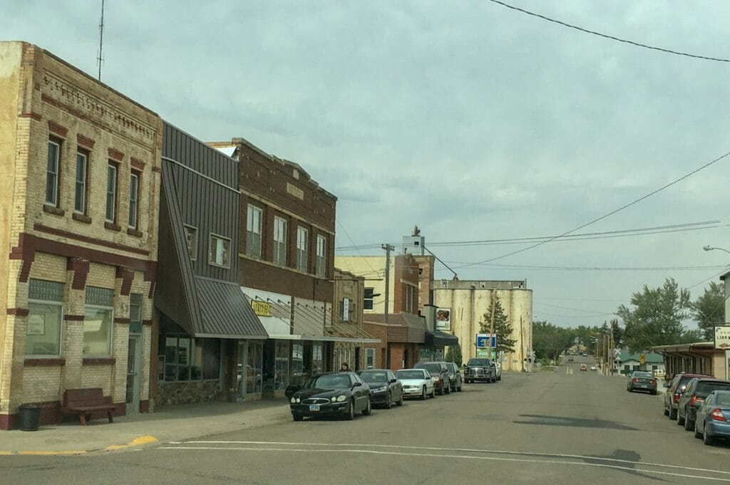 There are still thriving businesses in Beach, a historically significant western town in cowboy history.