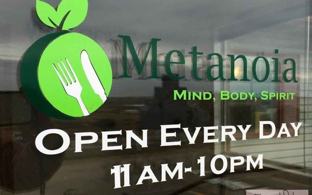 Metanoia Restaurant.  Healthy Food Is Delicious!   Tasty Tuesday