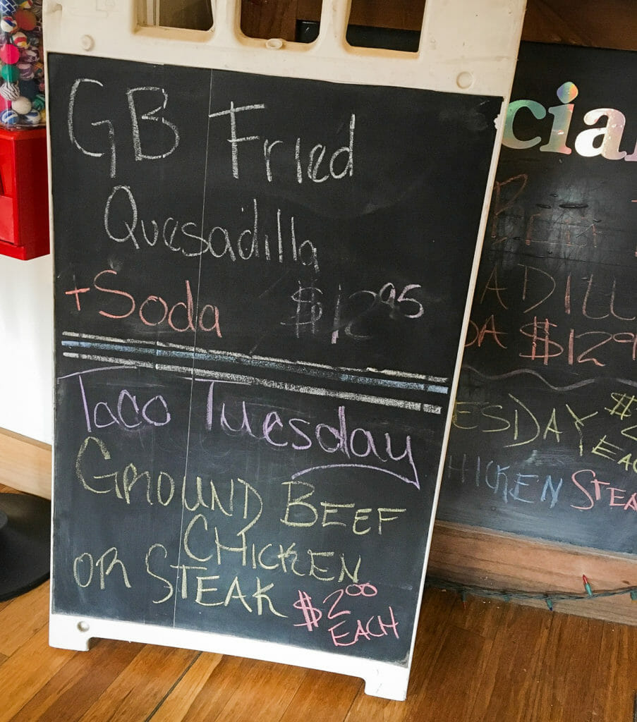 Daily specials at Los Compadres could cause one to return frequently!  Taco Tuesday, especially!