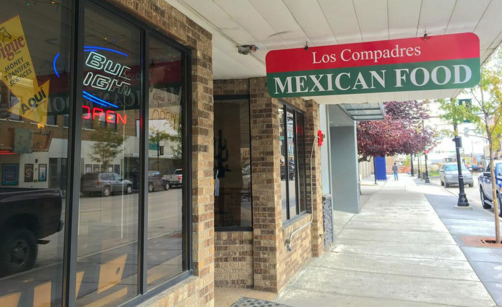 Los Compadres, on Main Street in Williston, North Dakota, is a hidden gem!