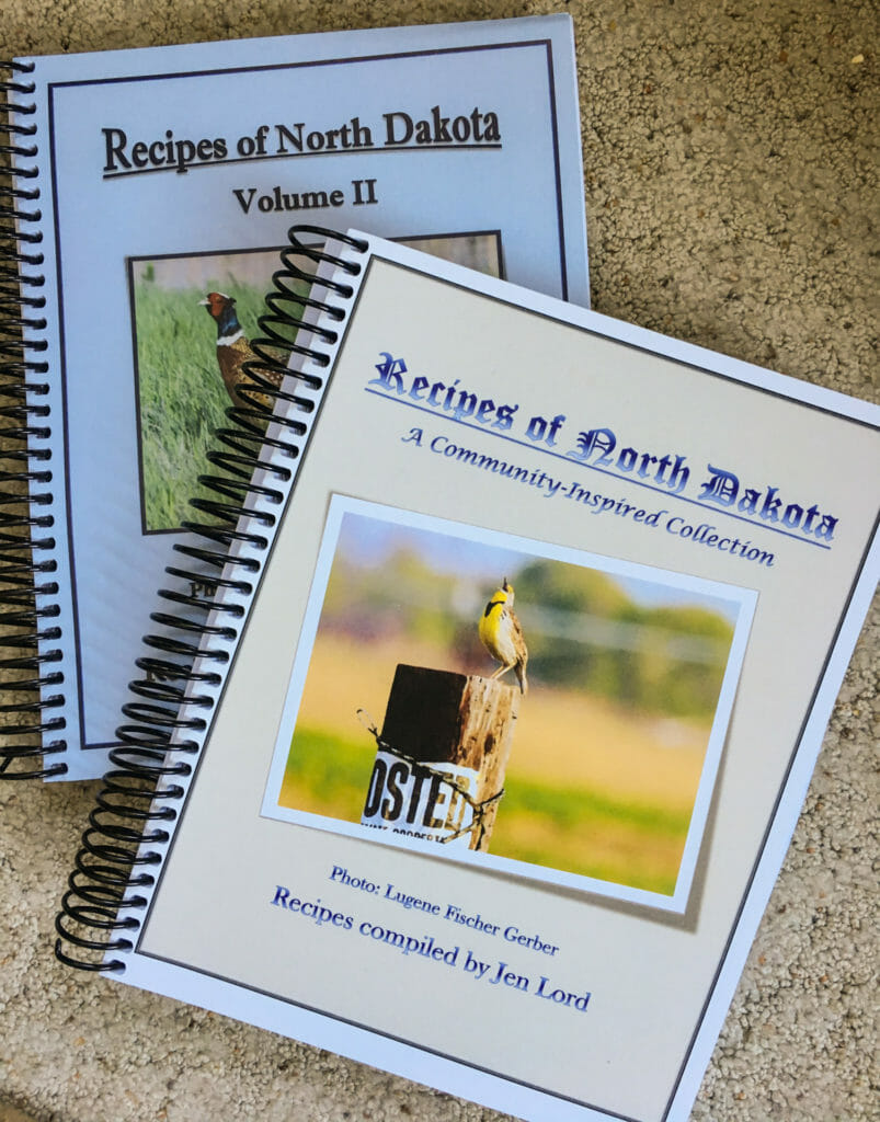 Recipes of North Dakota Cookbooks