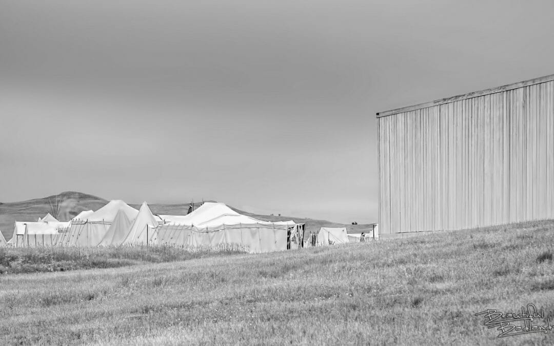 Photograph Fort Union Badlands in black and white — Sunday Snapshot