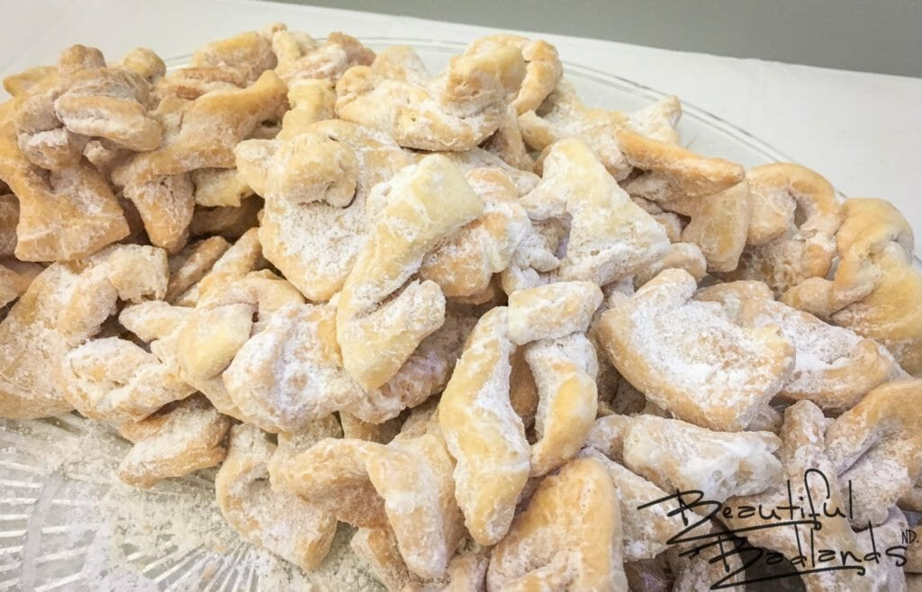 "Hrustyky, Ukrainian Fried Cookies. ""Pig Ears!"""