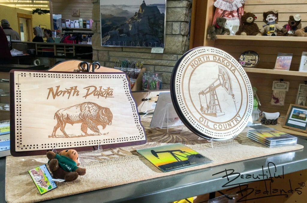 North Dakota Gift Items, Chateau de Mores Interpretive Center, Medora, North Dakota