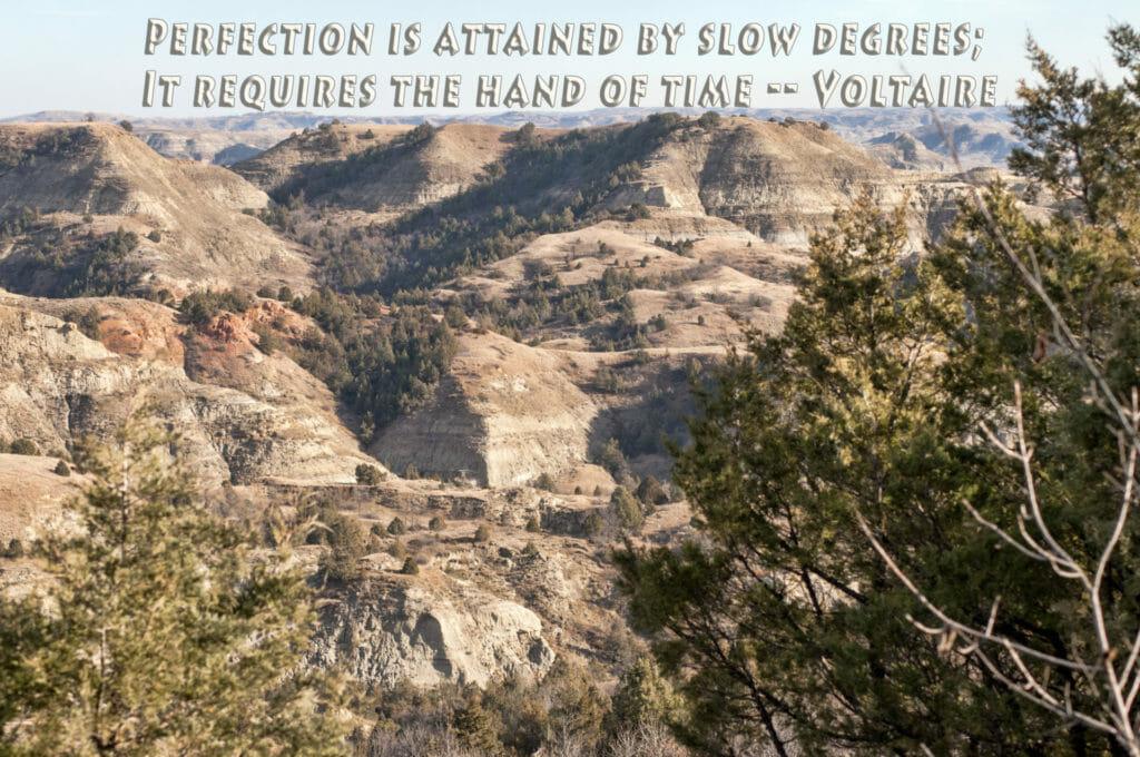 Perfection Little Missouri State Park North Dakota Badlands