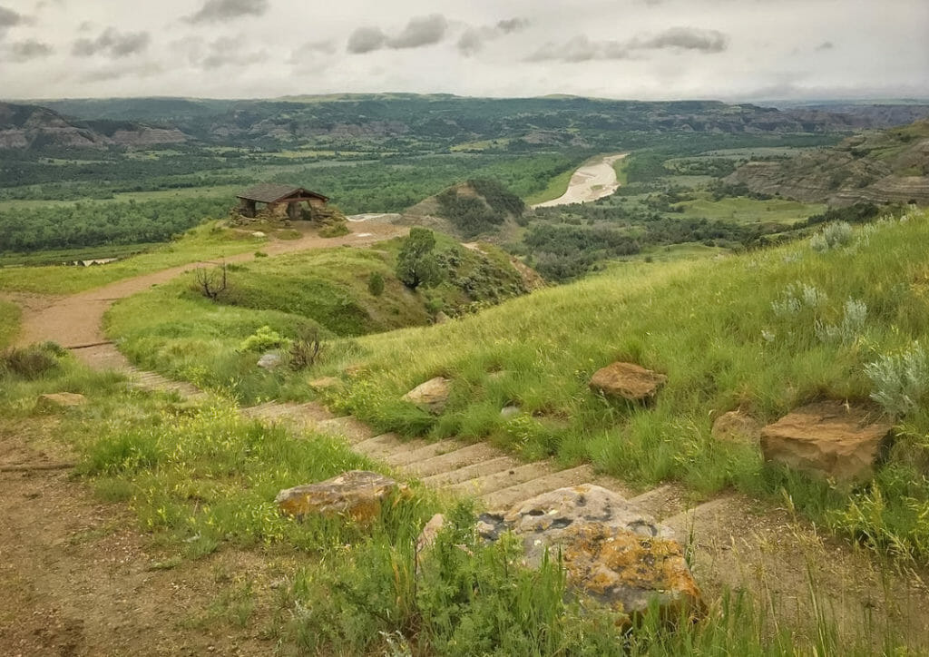 River Bend Overlook at Theodore Roosevelt National Park