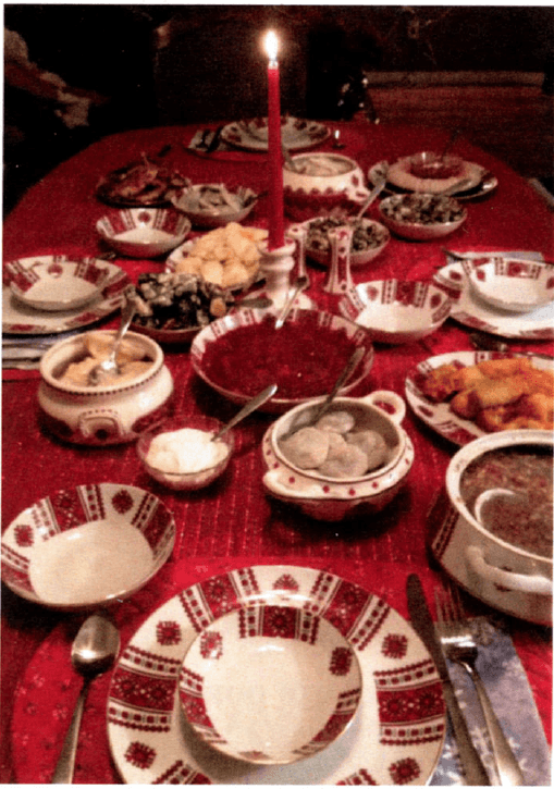 Ukrainian Christmas Eve Twelve Course Dinner