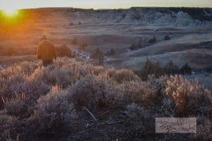 End of Our Sunset Hike at Theodore Roosevelt National Park