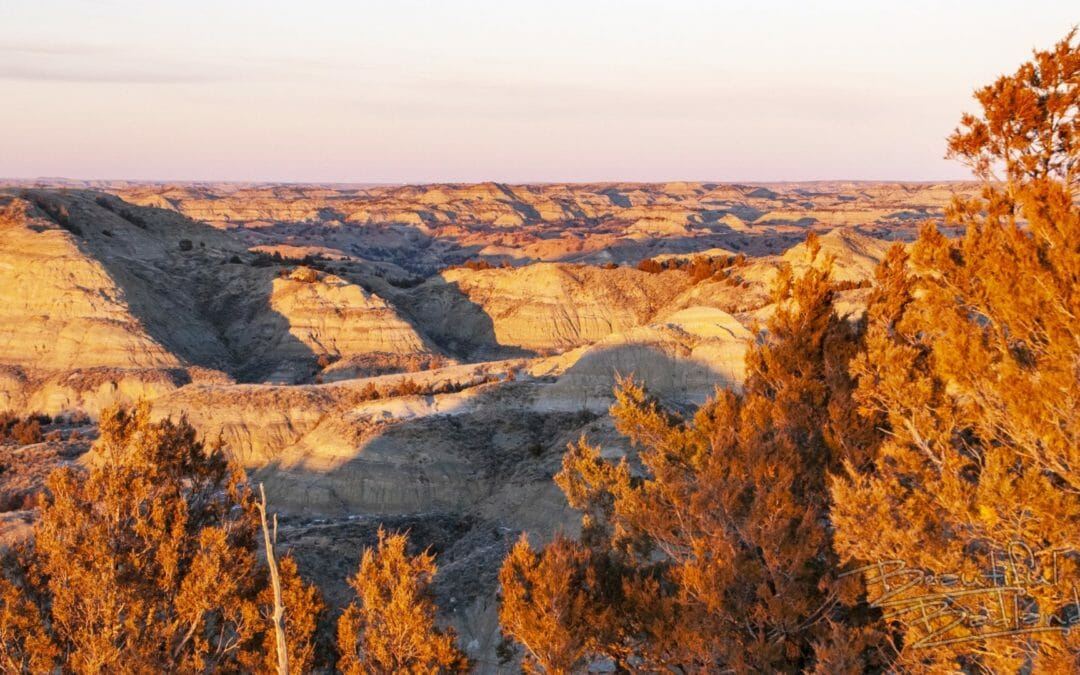 Here's how the Golden Hour transforms the Badlands landscape