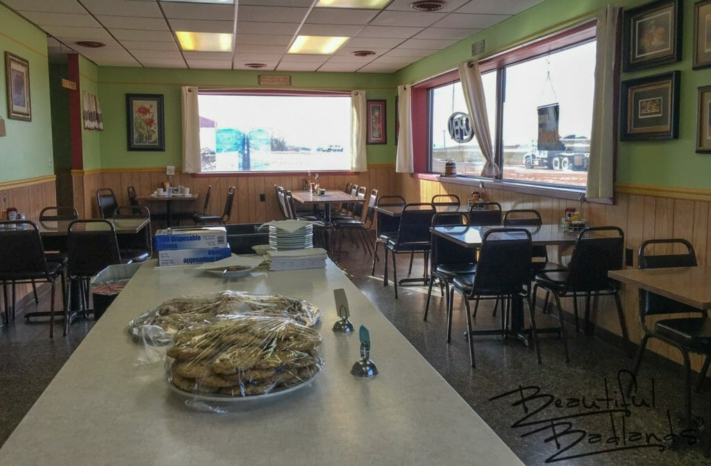 Four Corners Cafe in Fairfield, North Dakota