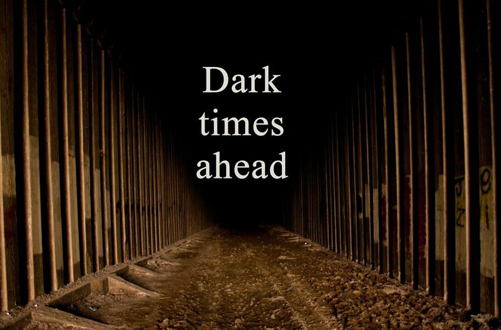 In the dark? Trust! — Inspiration from the North Dakota Badlands