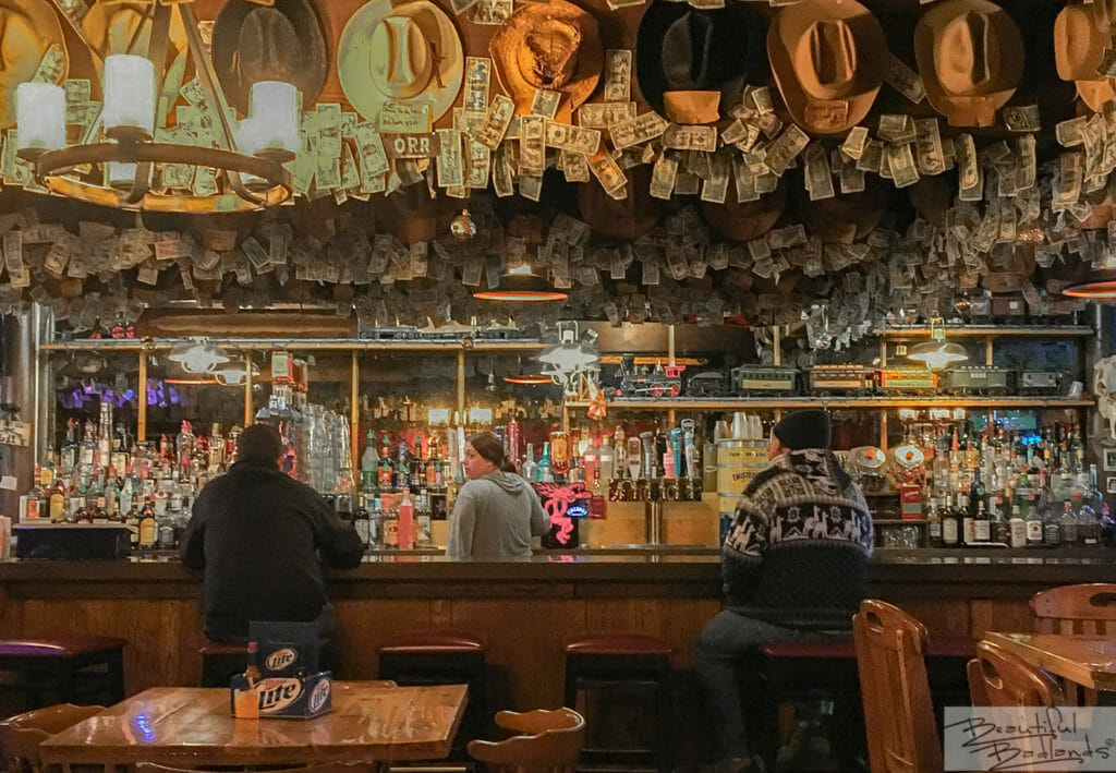 A Quiet Evening With Friends at Little Missouri Saloon & Dining, Medora, North Dakota