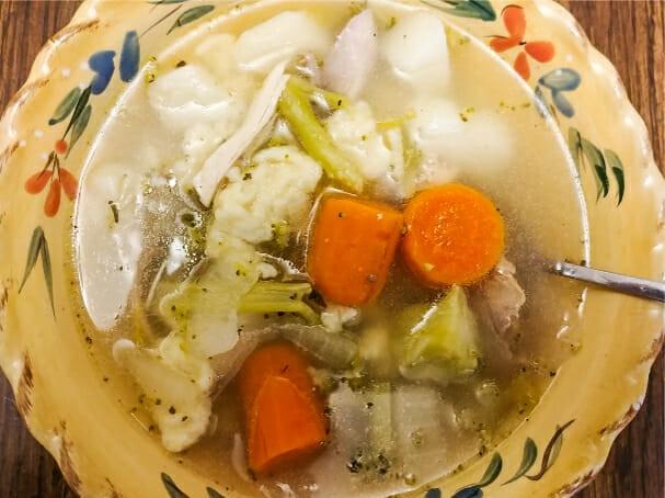 Sandy's Knoephla Soup