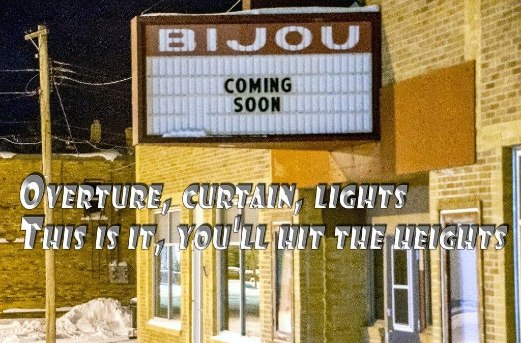 The New Bijou — It's coming!