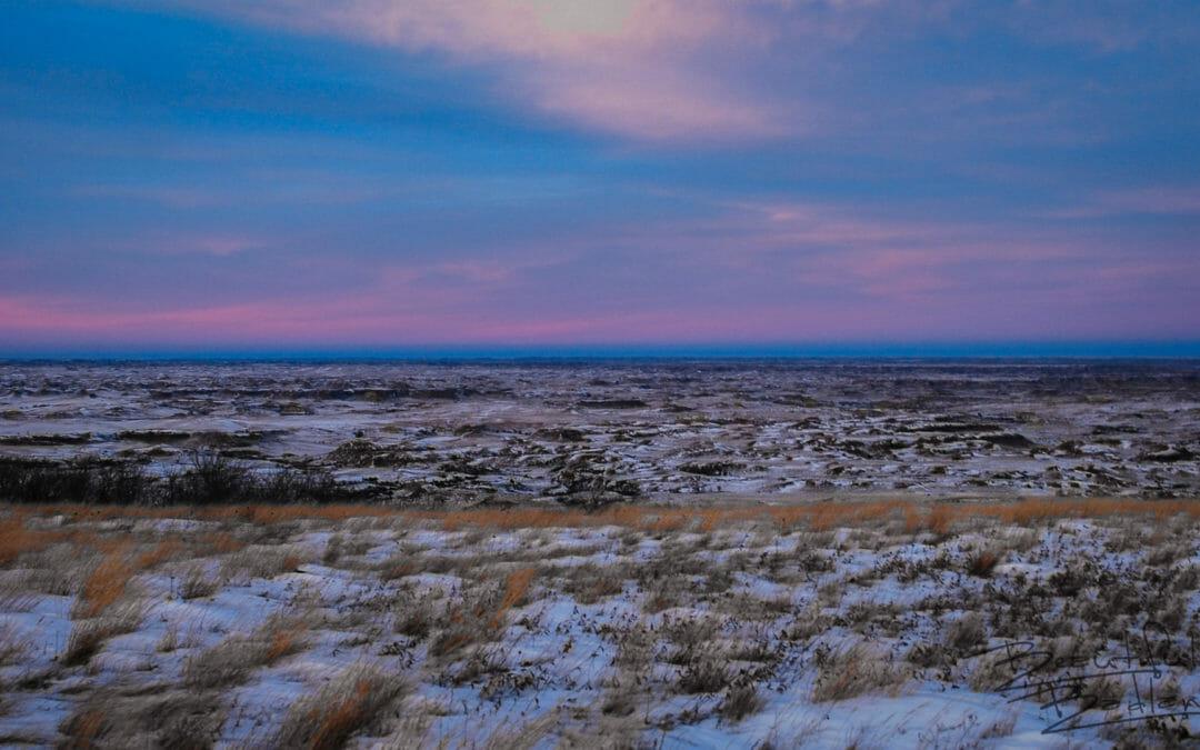 Frigid Winter Hike Becomes a Kaleidoscope in the Badlands of North Dakota   Snapshot(s) Saturday