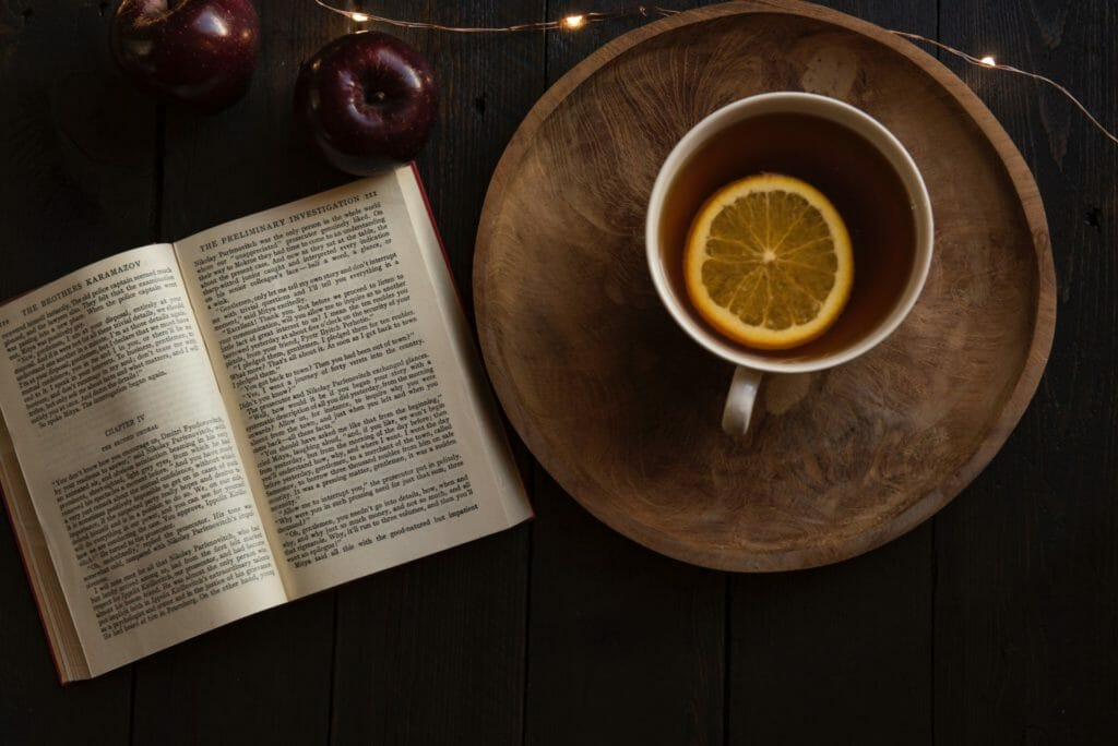 Relax With A Book And A Hot Drink