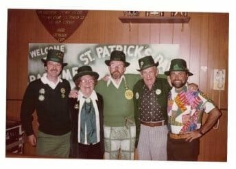 Annual St. Patty's Day Party, Pastime Bar & Lounge, Inc., Hettinger, North Dakota