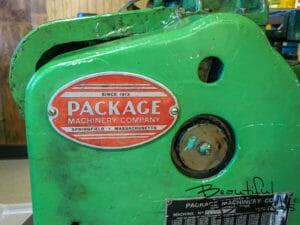 Vintage Taffy Packaging Machinery, Taffy Shop, Medora, North Dakota