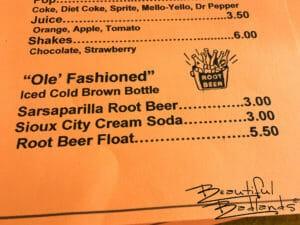 """""""Ole' Fashioned!"""" at Cowboy Cafe, Medora, North Dakota"""