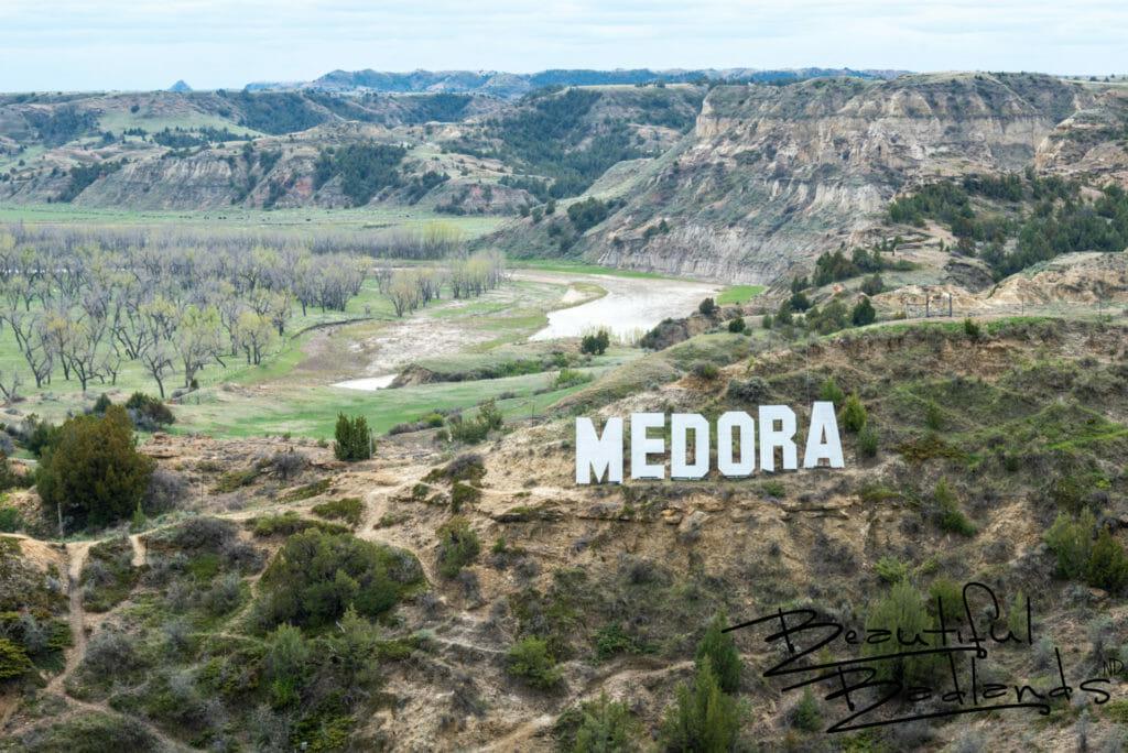 Little Missouri River at Medora, North Dakota