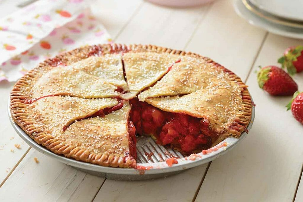 Rhubarb Double Crust Pie