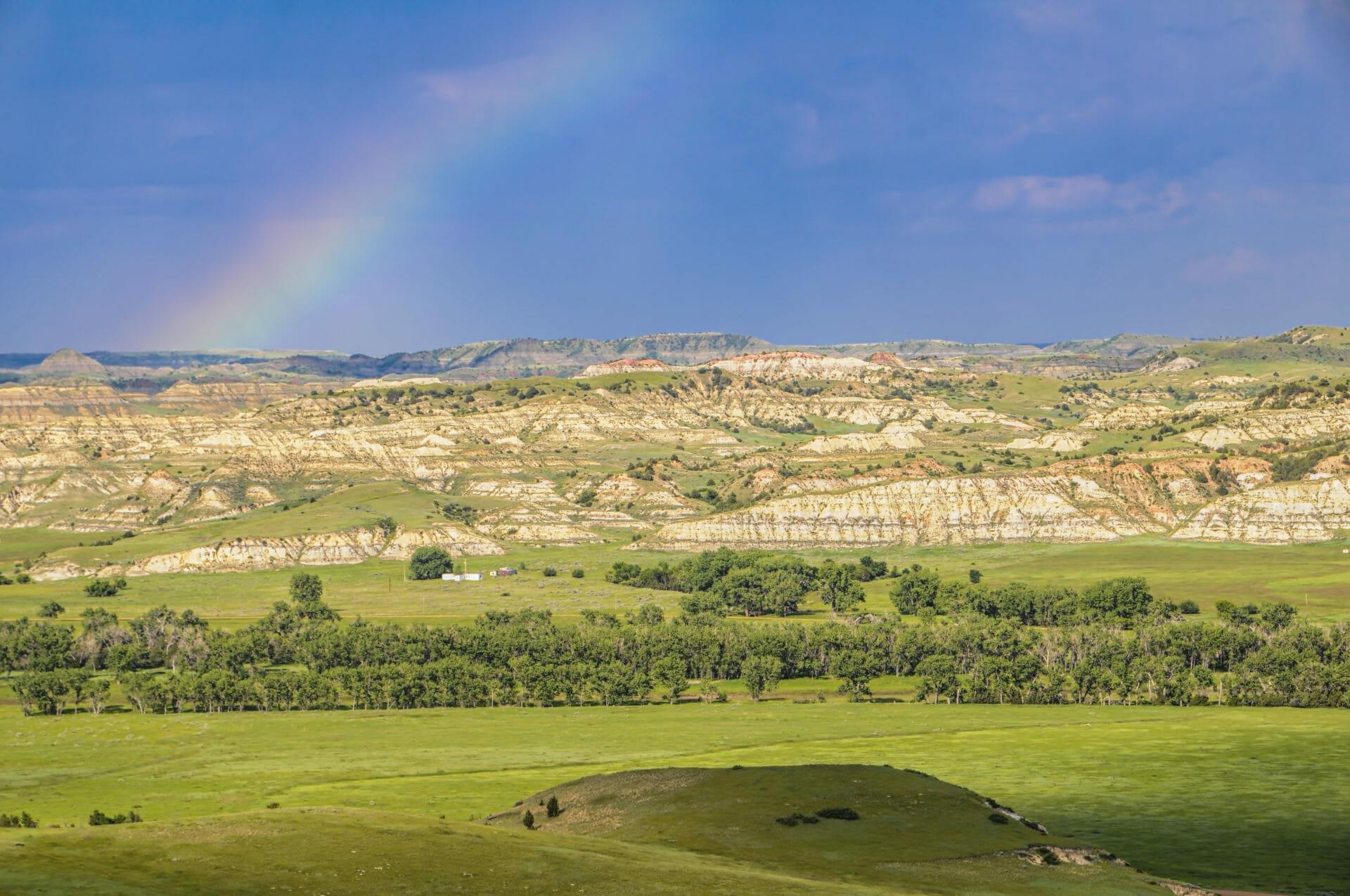 rainbow badlands scoria rock