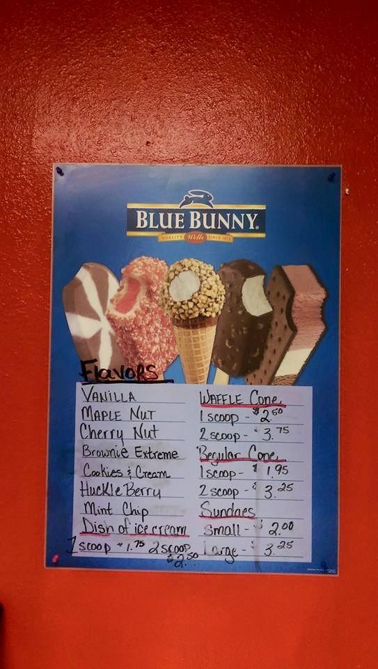 Blue Bunny Ice Cream Flavors, Nana Lil's Cafe, Killdeer, North Dakota