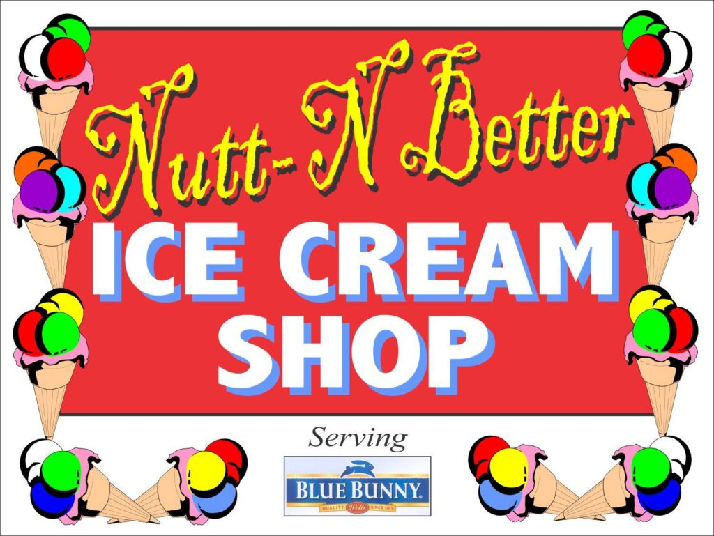 Nutt-N-Better Ice Cream Shop, Sidney, Montana Photo from the Facebook page: Nutt-N Better Ice Cream Shop