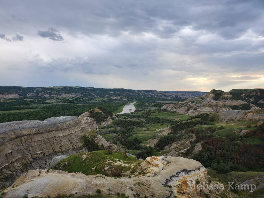 Little Missouri River From River Bend Overlook, Theodore Roosevelt National Park, North Unit. Photo by Melissa Kamp