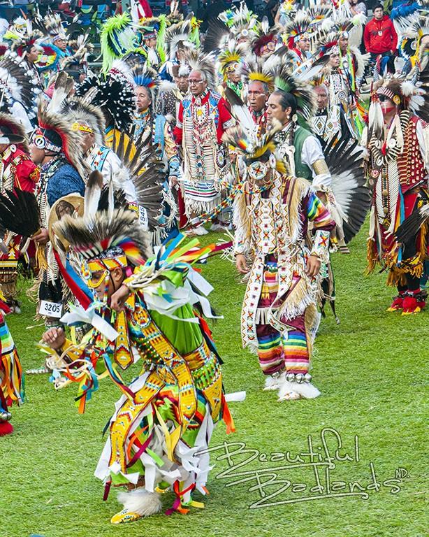 teen regalia powwow little shel MHA Nation