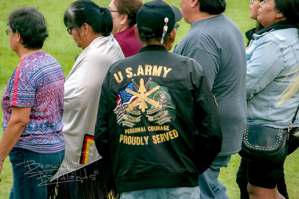 patriotic military little shell powwow