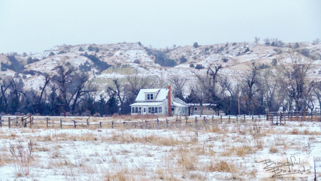 Peaceful Valley Ranch was one of the first ranches in the badlands of western North Dakota, north of Medora. It's the location of a popular hiking trail head in Theodore Roosevelt National Park.