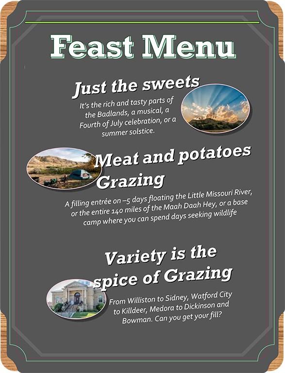 feast menu