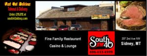 South 40 Family Restaurant, Casino & Lounge, Sidney, Montana